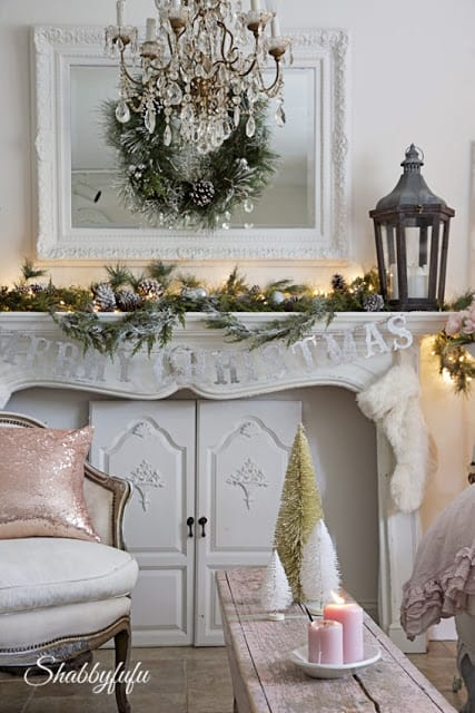 romantic home for christmas