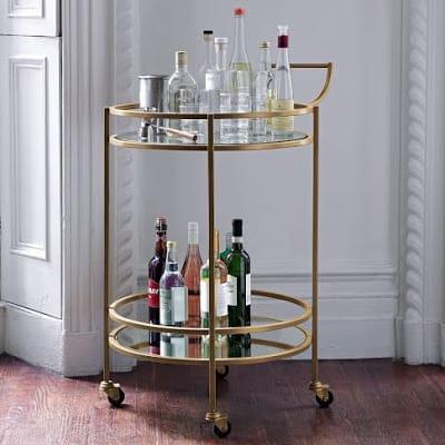 shop for west elm bar cart