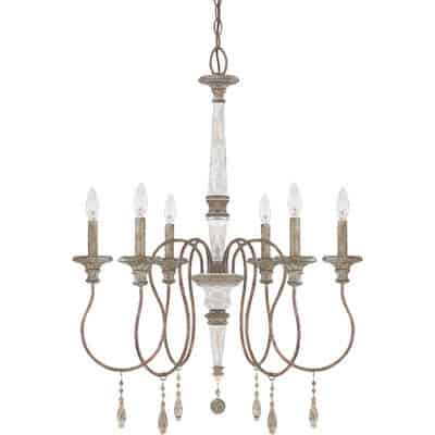 shop for french wood chandelier