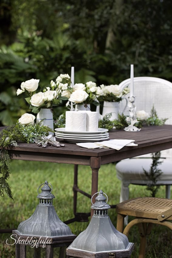 restoration hardware dining table outdoors