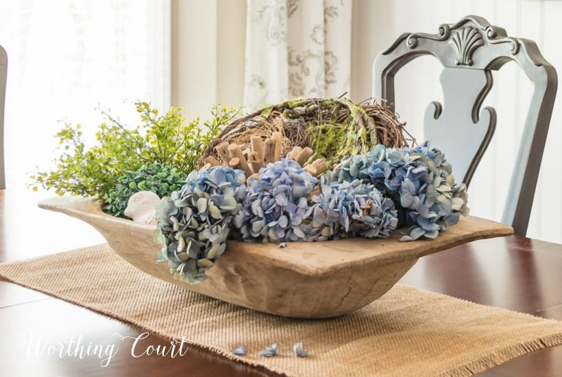 how to style a dough bowl