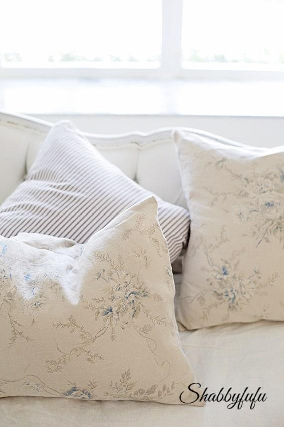 DIY pillow covers