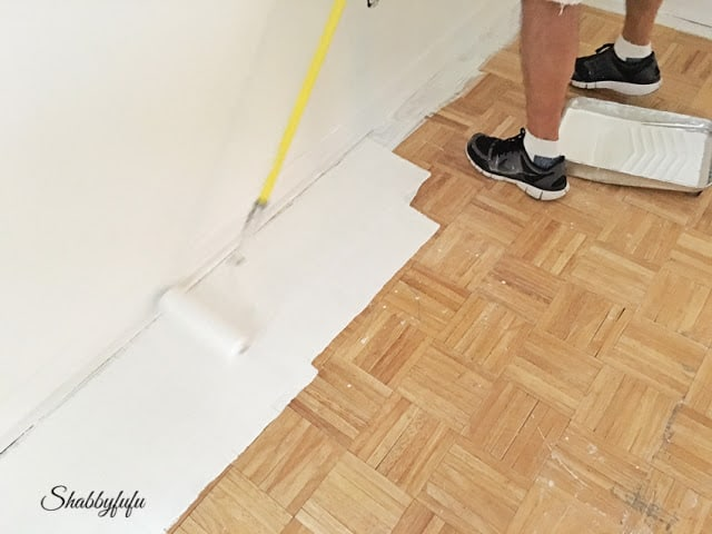 Painting A Hardwood Floor
