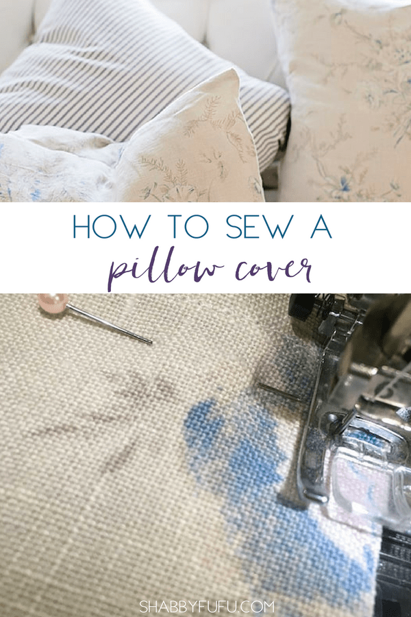 "Sewing a pillow cover is simple and easy with this fast process! Anyone can become a ""pro"" in pillow covers in no time at all! #pillowcovers #pillowslips #howtosewpillowcovers #simplesewingtips"