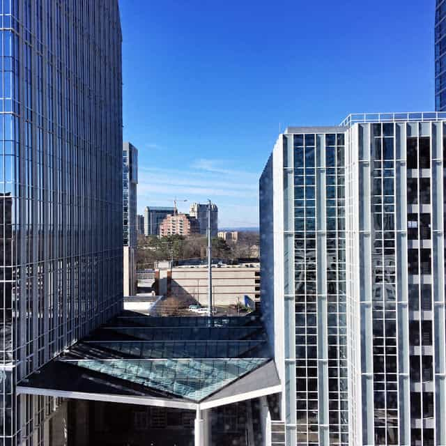 grand hyatt atlanta room view