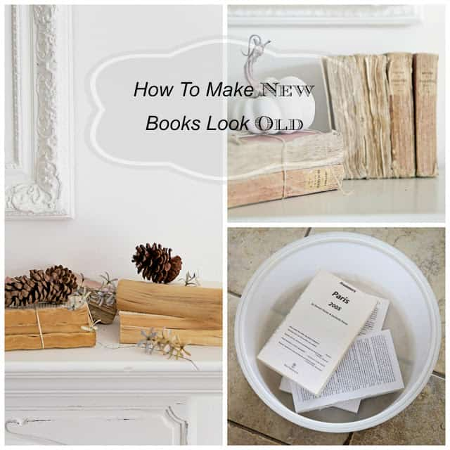 Five favorite easy craft projects for How to make an old book