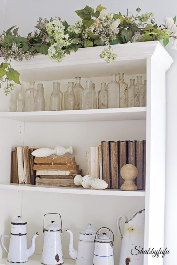 french bookcase, Ikea Billy Bookcase hack, DIY project. This DIY Ikea Billy Bookcase hack is simple and inexpensive and turns a plain bookshelf into an elegant French style piece for your home.