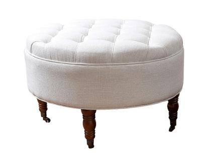elegant ottoman