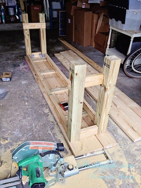 building a table diy