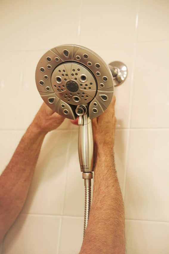 flexible shower head