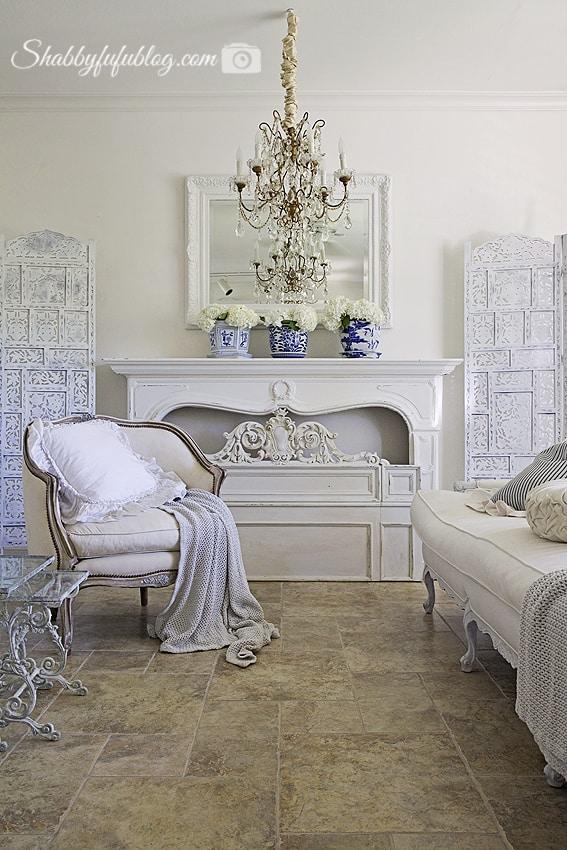 elegant french style living room