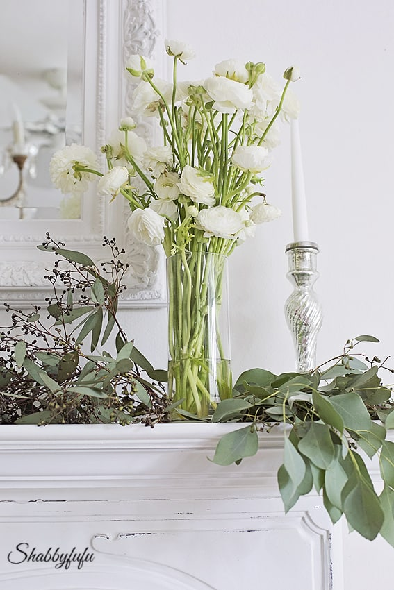 using fresh flowers for home decor