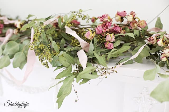 wedding flower garland