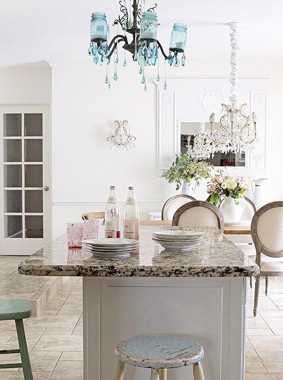 gorgeous white kitchen design
