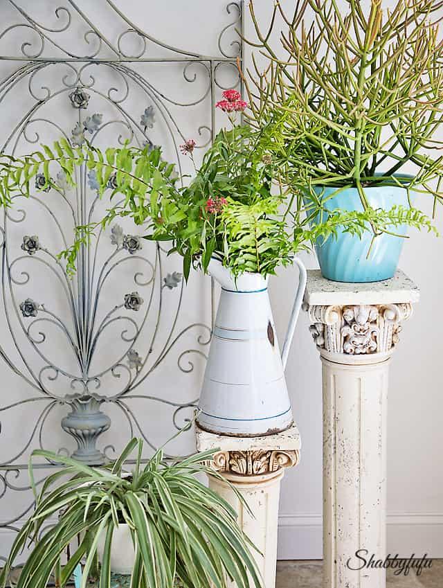 Greening Up…A Sweet Summer Room