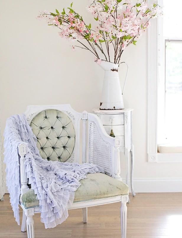 blue bedroom decorating