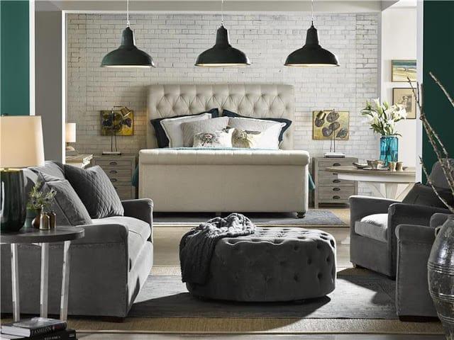 universal furniture design bloggers tour