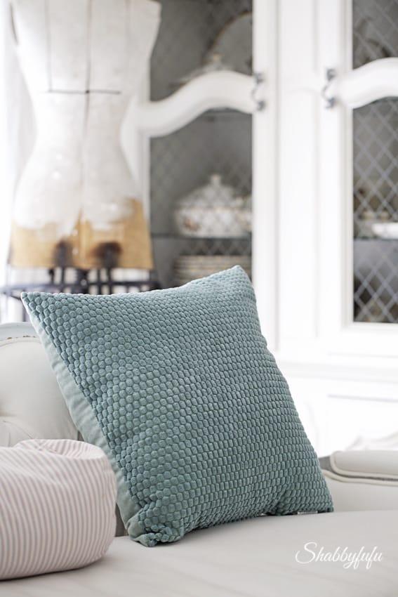 aqua pillow kirklands