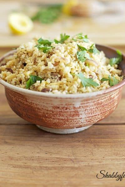Easy Cauliflower Rice With A Secret Sweetness