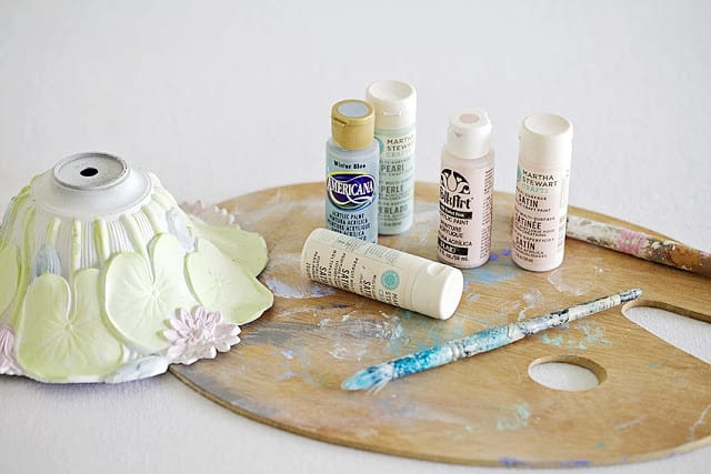 pastel craft paint
