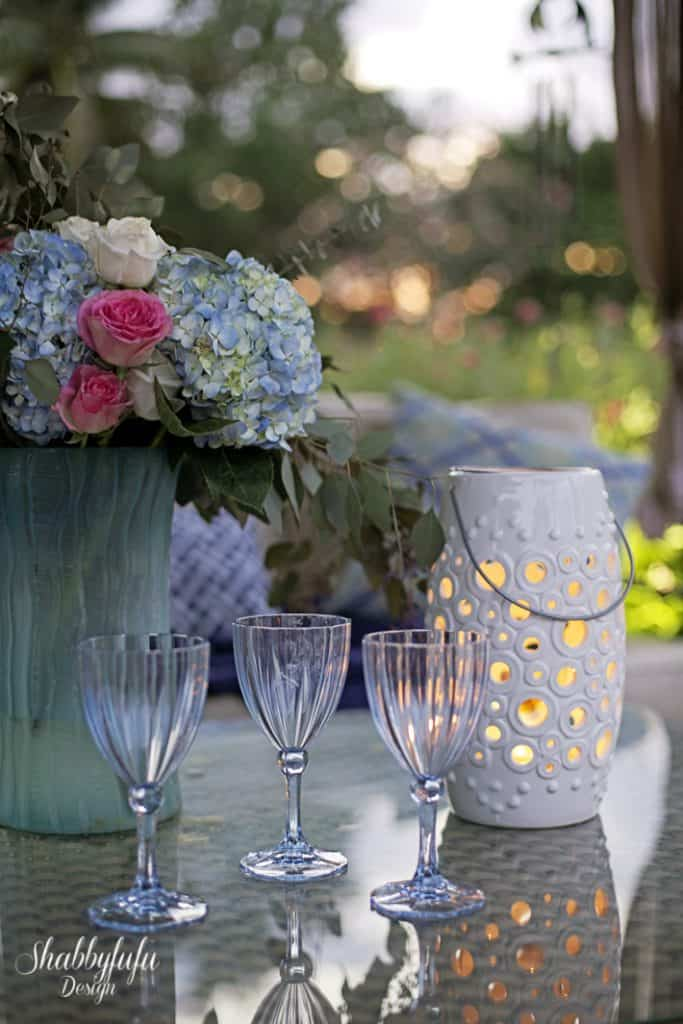 wine glasses at home store