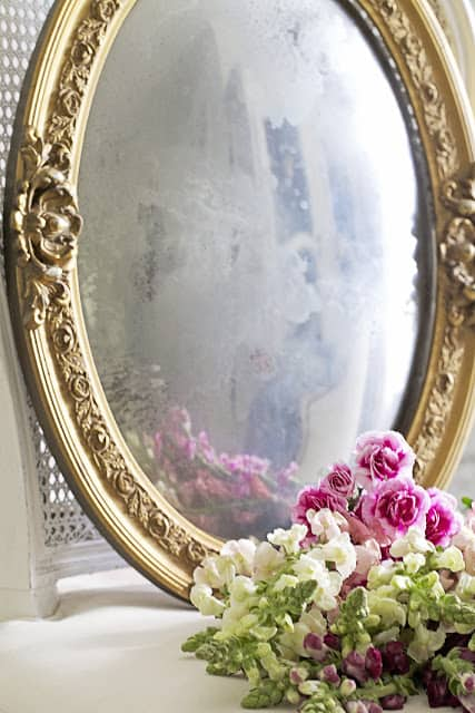 How To Make A Mirror From A Picture Frame Shabbyfufu