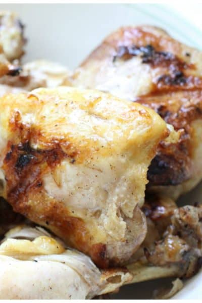 Baked and Marinated Summer Chicken Recipe