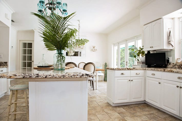 white kitchen remodeling budget