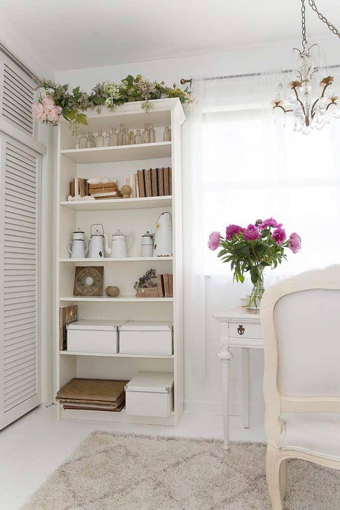 modern home office built ins
