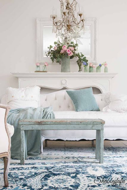 Incroyable Shades Of Blue And Also Shades Of Green Make For The Perfect Summer Accent  Colors In My Book. I Did A Little Bit Of Restyling In The Living Room While  ...