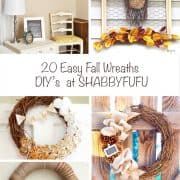 20 Easy And Quick Fall Wreaths – Tutorials