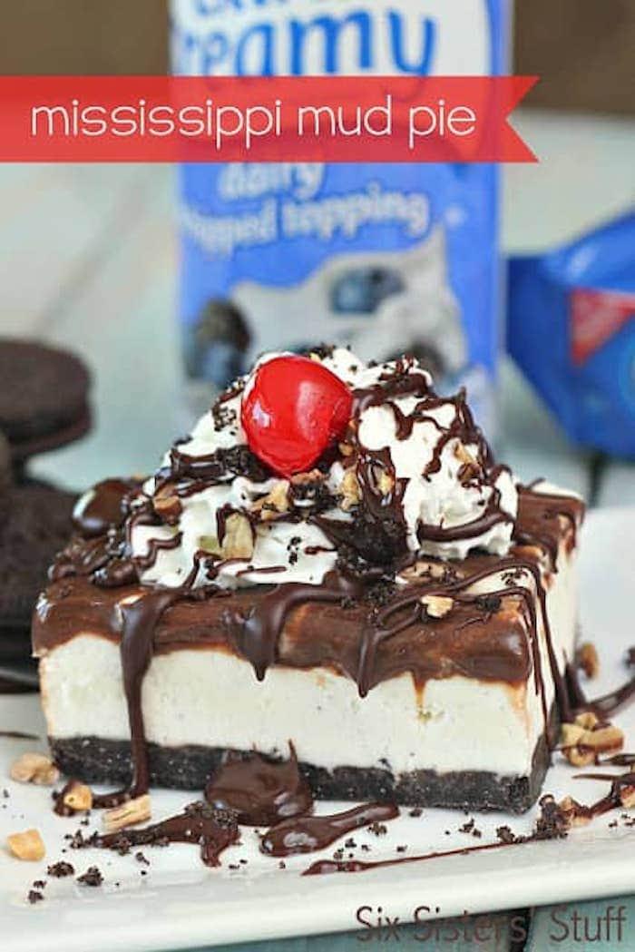 Mississippi mud pie ice cream pie recipes