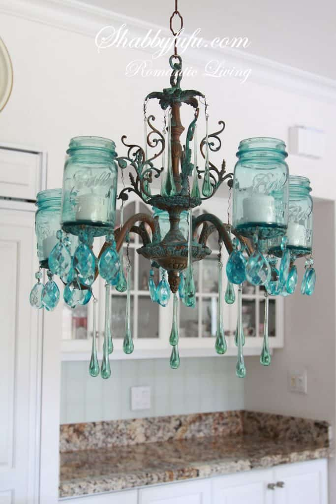 shabbyfufu.com mason jar chandeliers