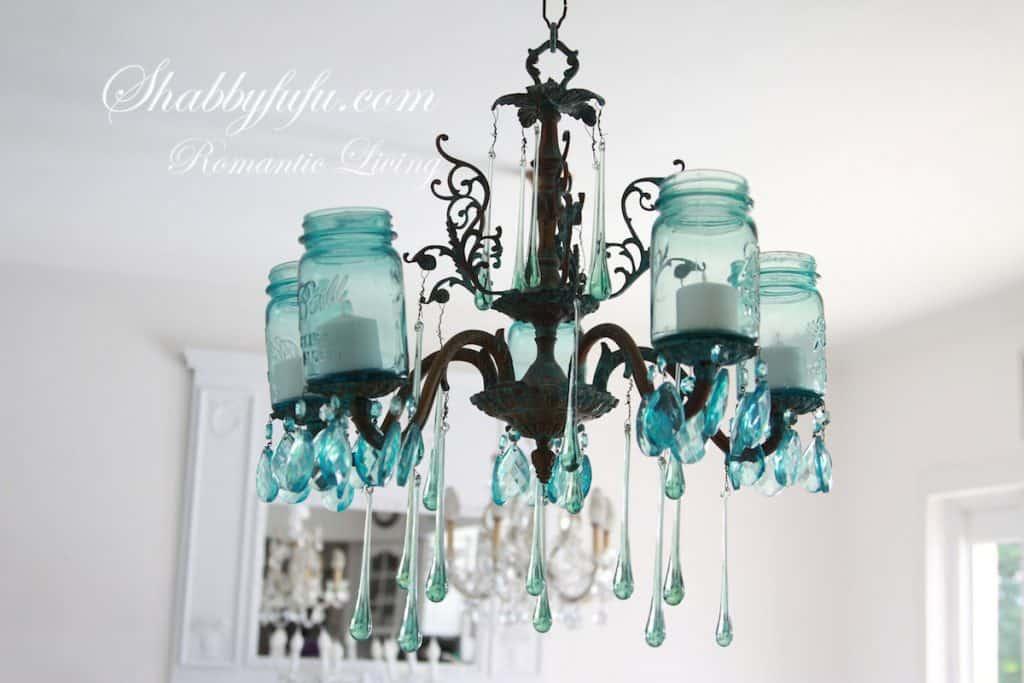 cottage mason jar chandelier. Farm House Lighting Cottage Mason Jar Chandelier