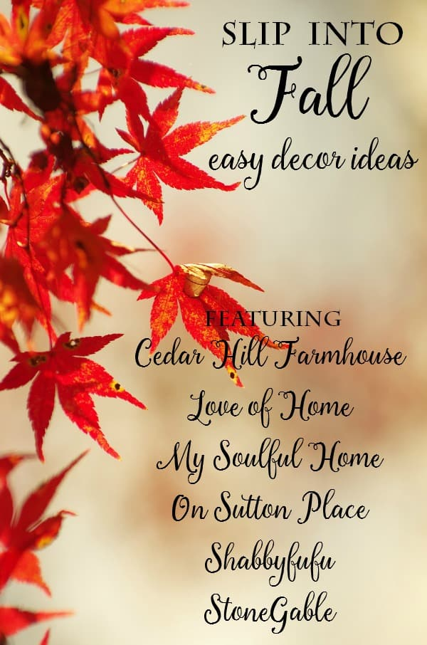 Easy Decorating Ideas For Transitioning Into Fall