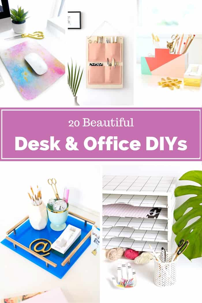 20 Beautiful Desk and Office Projects DIY