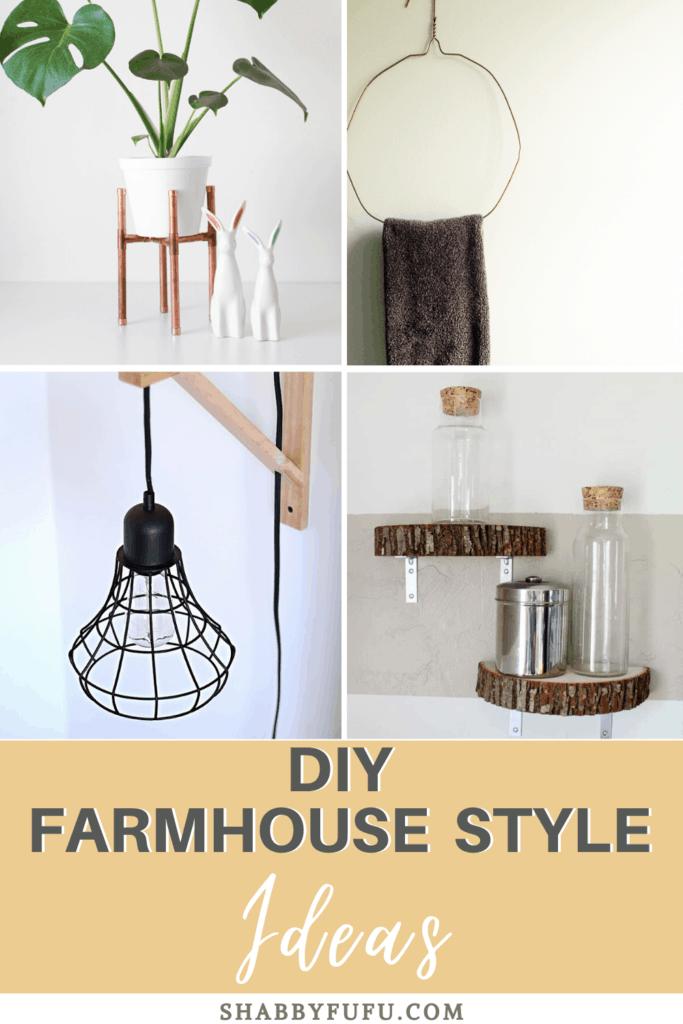 Creative Farmhouse Decorating Ideas Mantel More Shabbyfufu Com