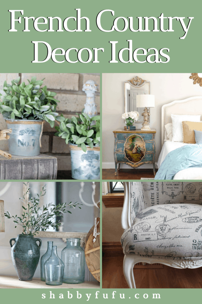 Modern style French country decor