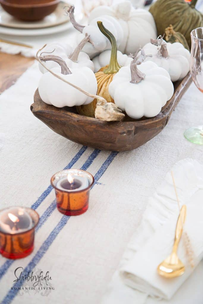 dough bowl centerpiece ideas