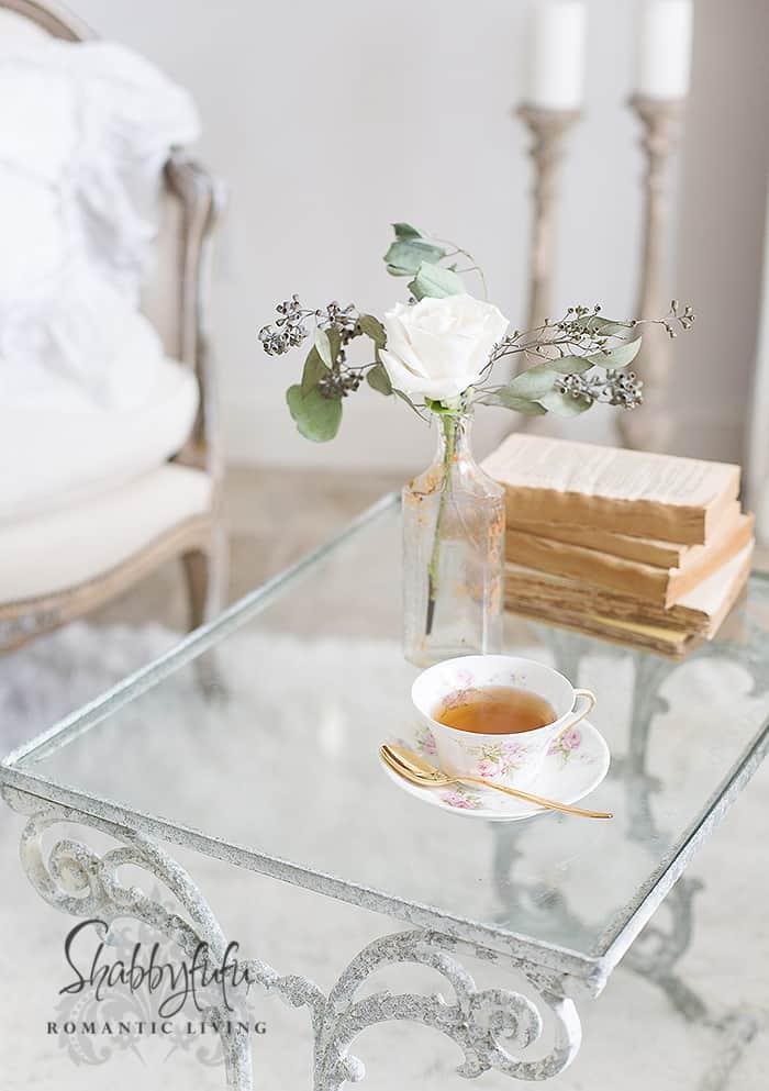 limoges roses teacup