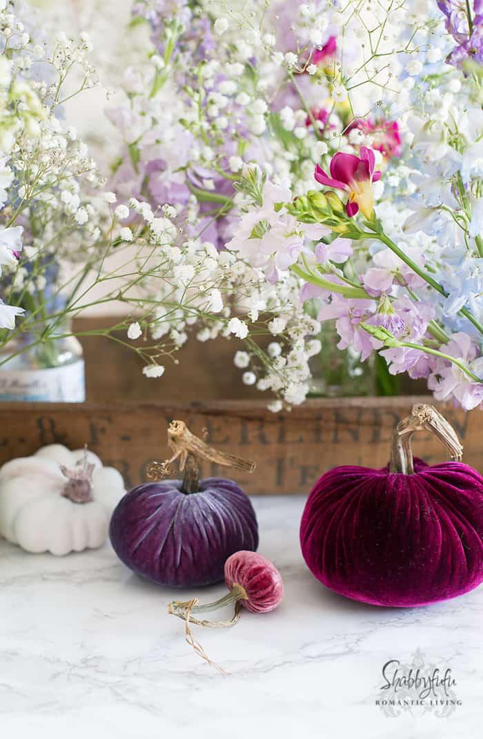 How to make a pumpkin centerpiece ways shabbyfufu