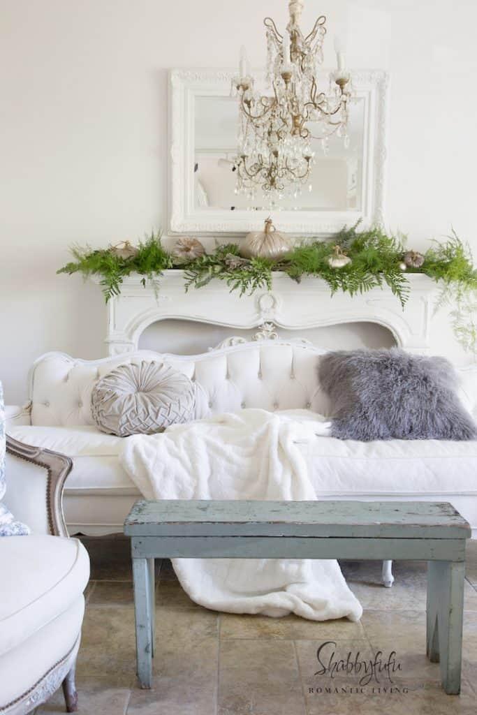 elegant white french living room designer ideas
