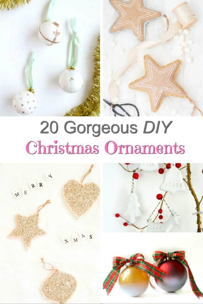 beautiful christmas ornaments to make diy