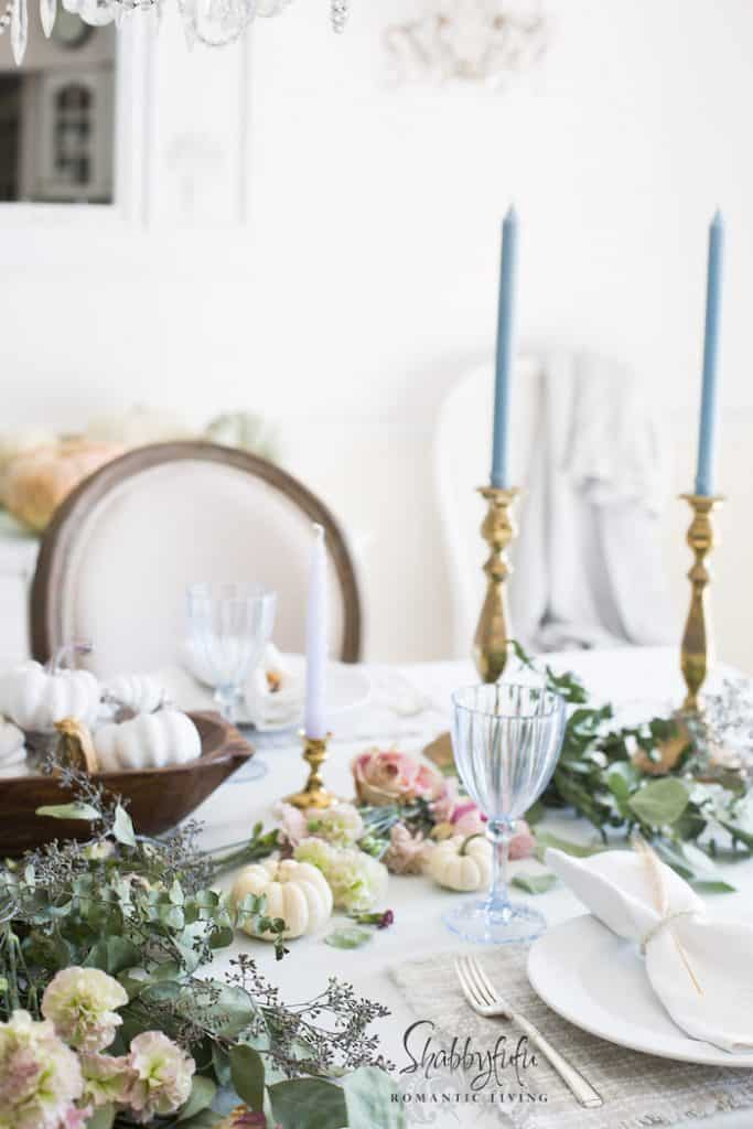 pottery barn dishes on a table