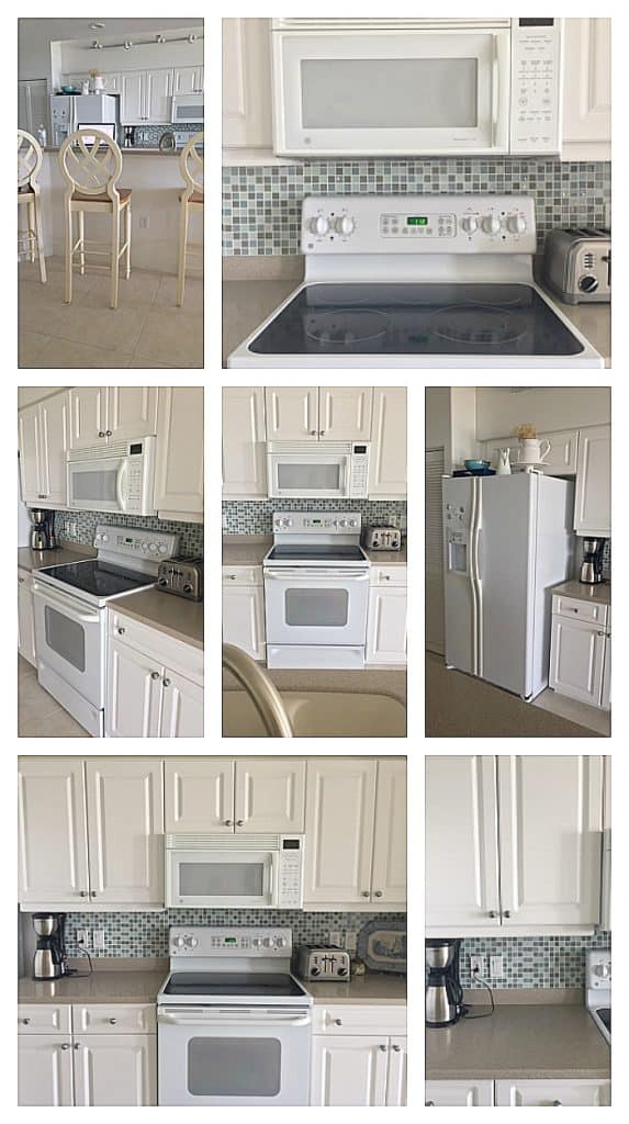 before photos of beach home kitchen