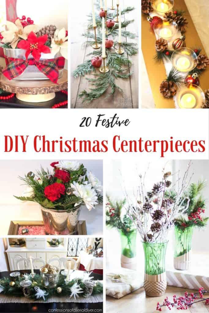 how to make a christmas centerpiece 20 easy diys