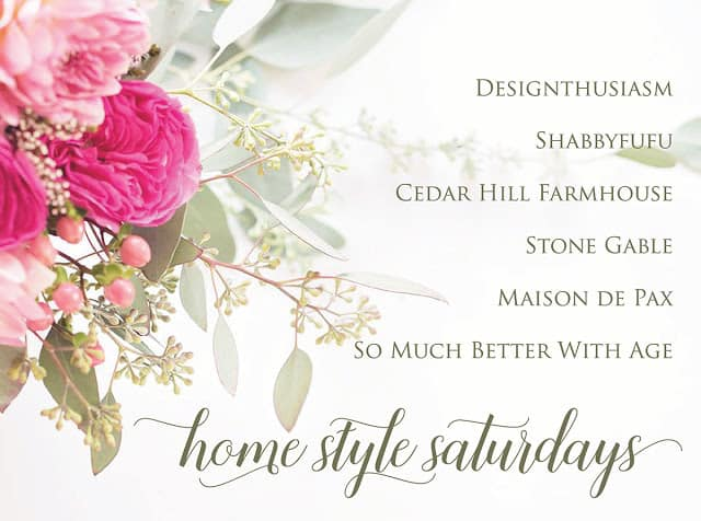 HomeStyle Saturdays at Shabbyfufu.com