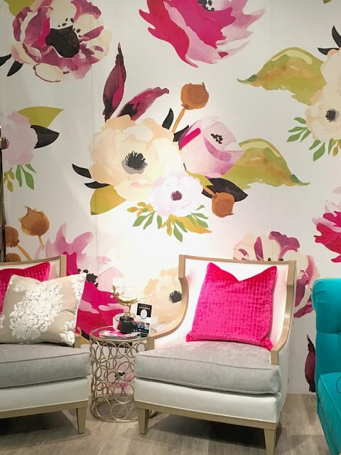 Joanie Design floral wallpaper
