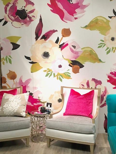 Joanie Design floral wallpaper