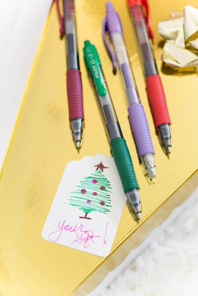 colored pen diy project doodling